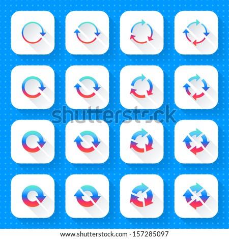 Blueprint background texture seamless pattern noise vectores en 16 arrow icon set 04 gradient sign on white square web internet button malvernweather Image collections