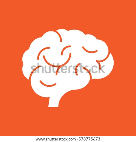 flat brain icon - photo #23