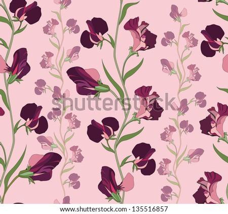 sweet pea wallpaper borders - photo #10