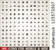 144  icons for web and mobile...