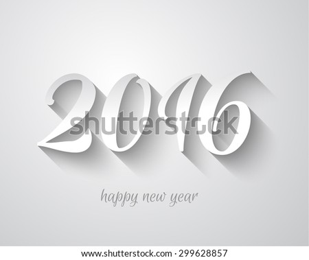 template 2016 happy new year background vector happy new year 2016 ...