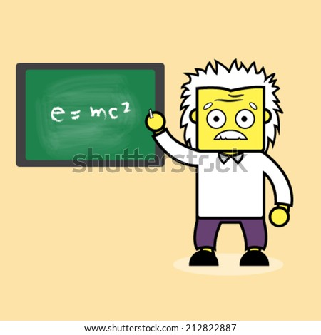 Professor and Einstein formula.