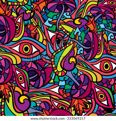 how to make psychedelic art