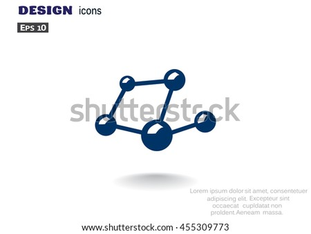 social network icon Vector.