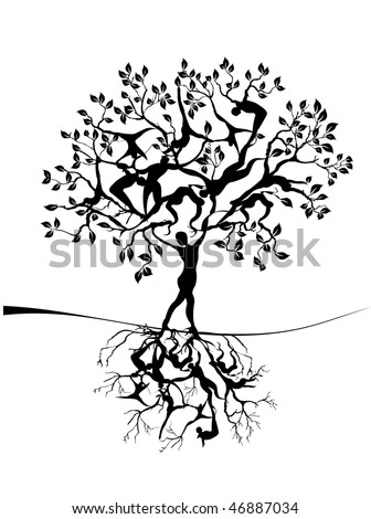 Tree of life Stock Photos, Illustrations, and Vector Art