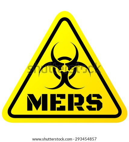 Warning sign of Mers virus vector