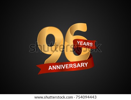 Marriage anniversary badges royalty free vector icon set vector