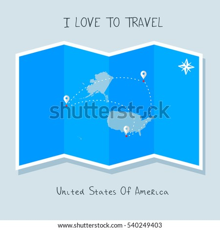 Blue Shade Map Map Pin Panama Stock Vector 540249580 Shutterstock