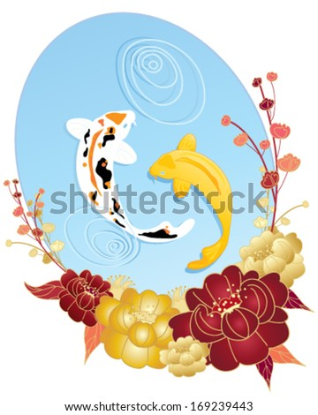 Traditional Abstract Asian Background Stock Vector