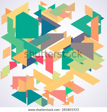 Abstarct geometric background. Pattern.