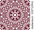 Abstract arabic or persian seamless ornament for background design. Jpeg (bitmap) version also available in gallery - stock vector