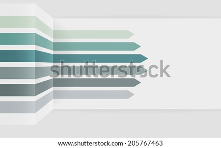 Abstract background of Arrows
