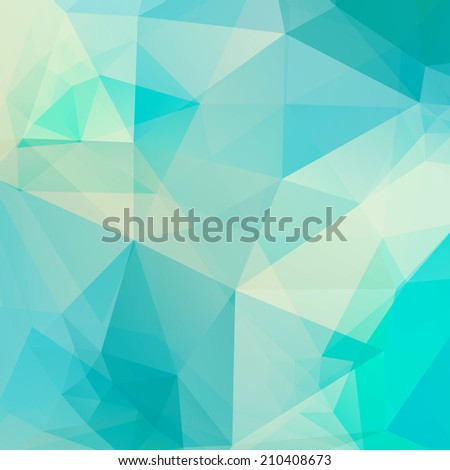 Abstract background of triangles. Vector illustration