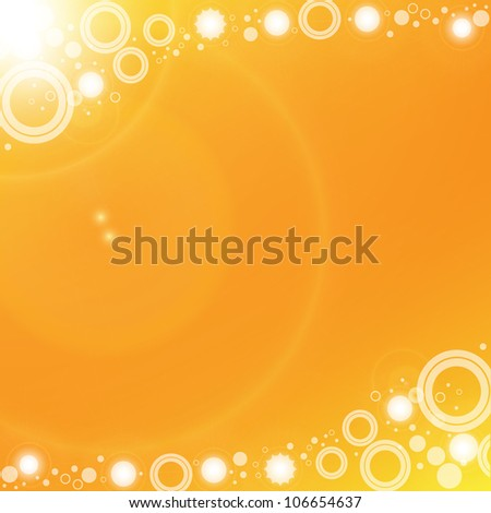Abstract background. Vector. Summer