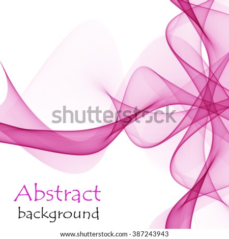 Abstract background with bow