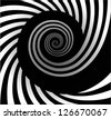 Abstract background with spiral - stock vector