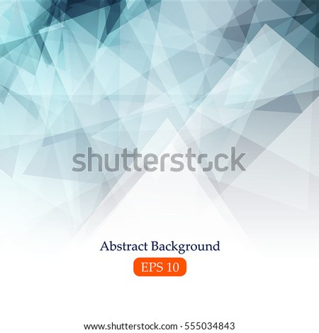 Abstract background with  triangle. Vector, illustration, eps10.