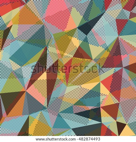 Patch Work Pattern Vector Background Stock Illustration 200674604 - Shutterstock
