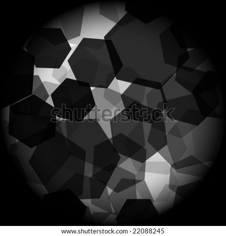 abstract black and white vector element