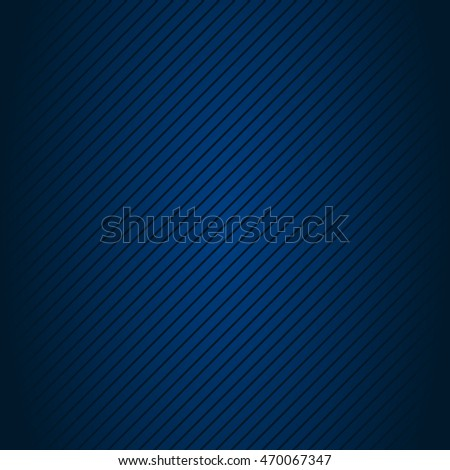 Abstract blue background with lines. Vector illustration.