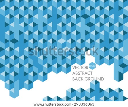 abstract blue on white background for design.