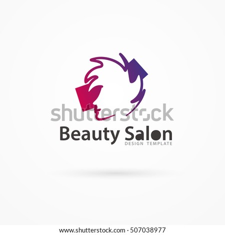 Pink birthday cake stock vector 85566472 shutterstock for Abstract beauty salon