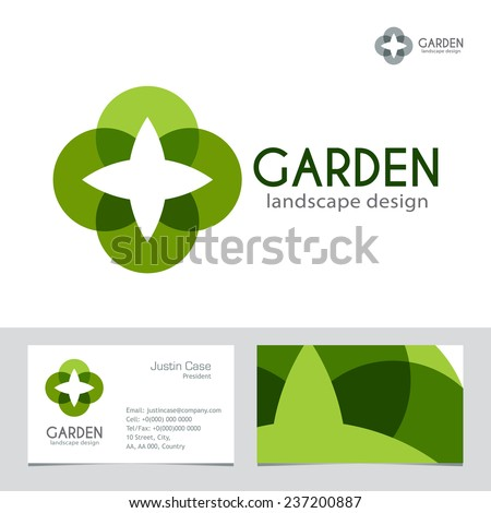 abstract business sign business card vector template vector icon corporate identity template for