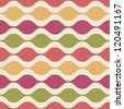 Abstract Colorful decorative seamless pattern. Vector - stock vector