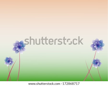 Abstract colorful floral background.vector EPS10