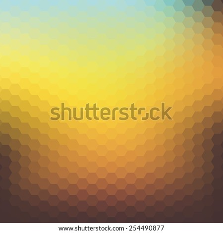 Abstract colorful rhombus background.