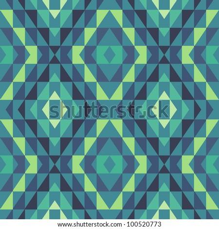 Ethnic vector seamless background vector illustration stock vector