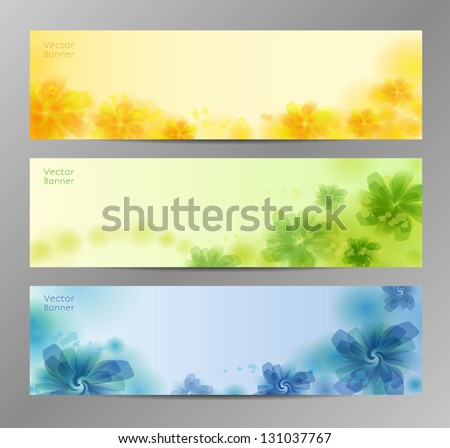 abstract flower vector background brochure template stock vector 131037767 shutterstock. Black Bedroom Furniture Sets. Home Design Ideas