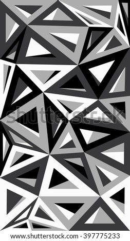 Abstract geometric background consisting of colored triangles