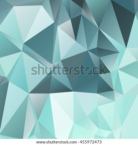Abstract geometric background consisting of multicolored triangular polygons