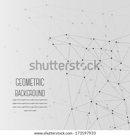 Abstract Geometric Background - EPS 10