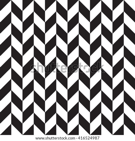 Abstract geometric seamless pattern. Black and white style pattern