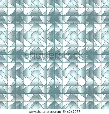 Abstract geometric vector illustration.  Can be used for wallpaper, pattern fills, textile, web page background, surface textures, Image for advertising booklets, banners, flyers.