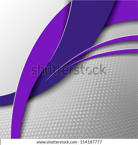 abstract gray background with arcs and points