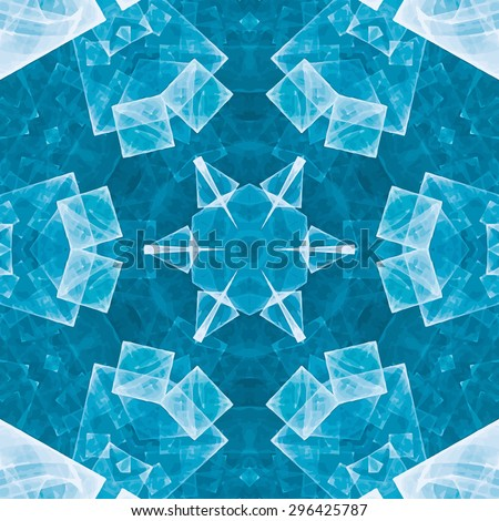 Abstract kaleidoscopic pattern. Seamless tiles with symmetrical pattern. Colorful background template for different design uses.