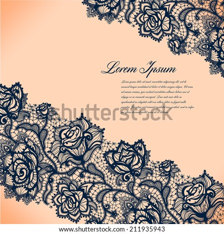 Abstract lacy pattern of the elements flowers.Vector background. Bright composition for decoration and scenery, presentations and gifts for your design