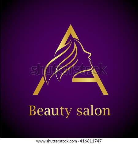Horse head logo stock vector 327318404 shutterstock for Abstract beauty salon