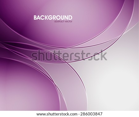 Abstract light vector background, white and purple