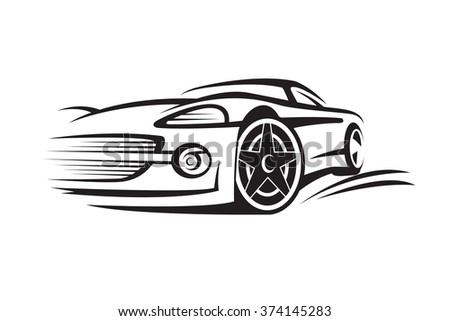 Hot Rod Illustration 566219761