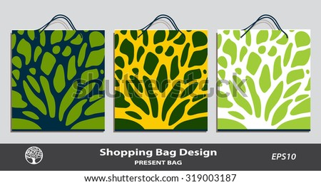 Set Three Wine Gift Bags Red Vector 207936742 Shutterstock – Editable Leaf Template