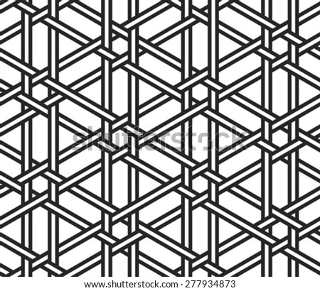 abstract seamless safe grid texture background vector illustration