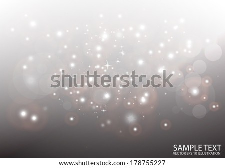 Abstract set of vector sparks and glitters for festive design  - Glitz shiny vector collection illustration  background