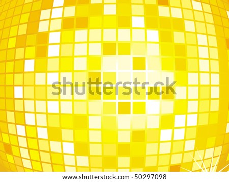 Abstract shiny tiles illustration