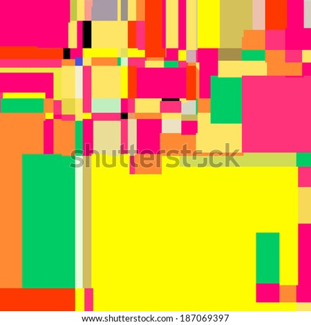 Abstract Style Background, colorful digital illustration.