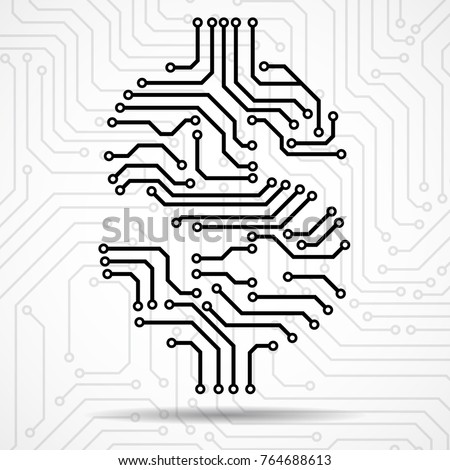 dollar sign coloring page - head circuit board power board wiring diagram odicis