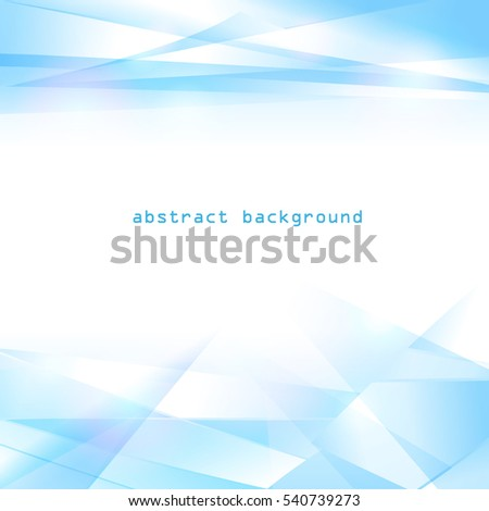 Abstract tech background. Futuristic interface. Vector illustration with many geometric shape.